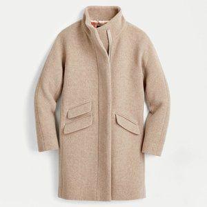 J.Crew Cocoon Coat Wool in Sandstone